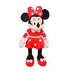 Минни Маус мягкая в красном платье