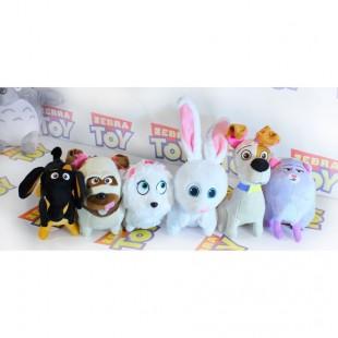 Игрушки оригинальные героев анимационного фильма Тайная жизнь домашних животных