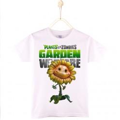 PVZ детская футболка с рисунком