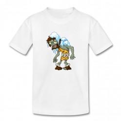 Замерзший зомби футболка