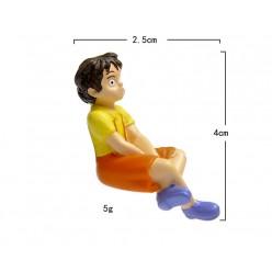 Фигурки Мэй Сацуки и Тоторо размер S.