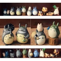 10 фигурок персонажей тоторо