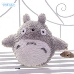 Игрушка мягкий Тоторо с семенами (Серый)