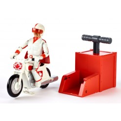 Дюк Кабум на мотоцикле