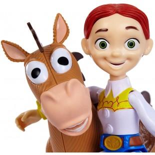 Оригинальные игрушки Дисней - герои Истории Игрушек набор Джесси ковбойша и Буллзай дешево