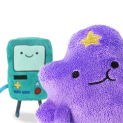 У нас Вы найдете игрушки из мультсериала Время приключений - все герои в одном месте - найди своего любимого персонажа Фин Джей и другие!