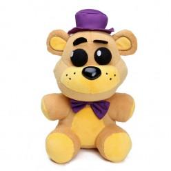 Фредди мягкий в фиолетовой шляпе 25 см.