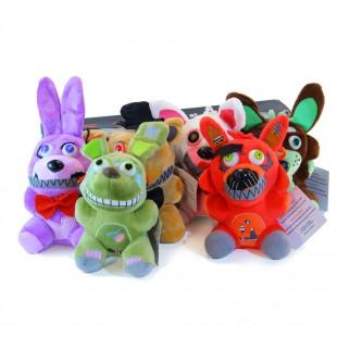 Главные аниматроники из ФНАФ - спрингтрап кошмарный мангл и даже фантом фокси - шесть игрушек по низкой цене!