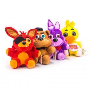 Набор игрушек Фредди+Чика+Бонни+Фокси из фнаф с постоянной скидкой и быстрой доставкой