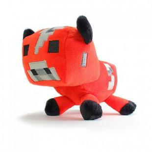 Плюшевая игрушка minecraft красная корова с грибами дешевая доставка в Саратов Владивосток Курск Воронеж