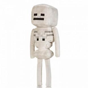 Игрушка мягкая из майнкрафта - моб Скелет мягкий доставка по всей России самые дешевые цены