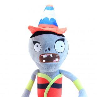 Зомби с дорожным конусом из компьютерной игры на голове плюшевый купить недорого