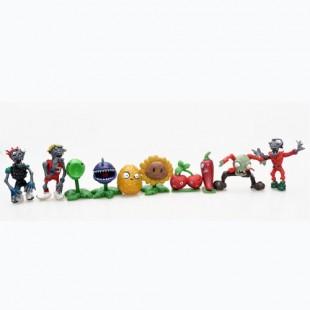 Набор пластиковых фигурок Zombie vs Plants №1