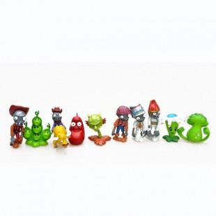 Набор пластиковых фигурок  Plants vs Zombies №3