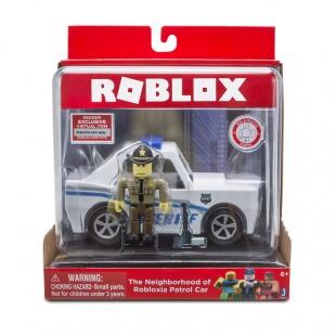 Коллекционные фигурки из Роблокса - Шериф на машине - оригинальные игрушки от Джазварез купить дешево
