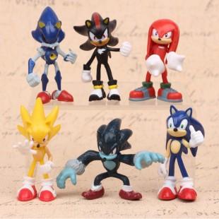 Набор Фигурок Sonic  7 см.