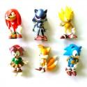 Фигурки героев мультфильма Sonic BooM