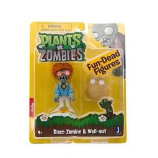 Пластиковый набор Zombie vs Plants Диско Зомби