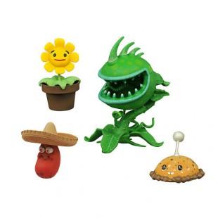 Эксклюзивный пластиковый набор Растения против Зомби