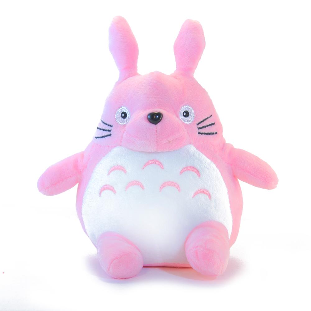 плюшевая игрушка розовый тоторо
